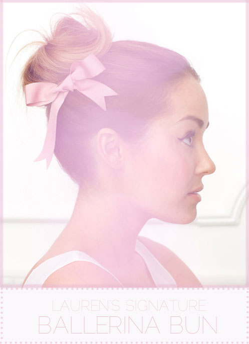 {Beauty} Ballerina Bun