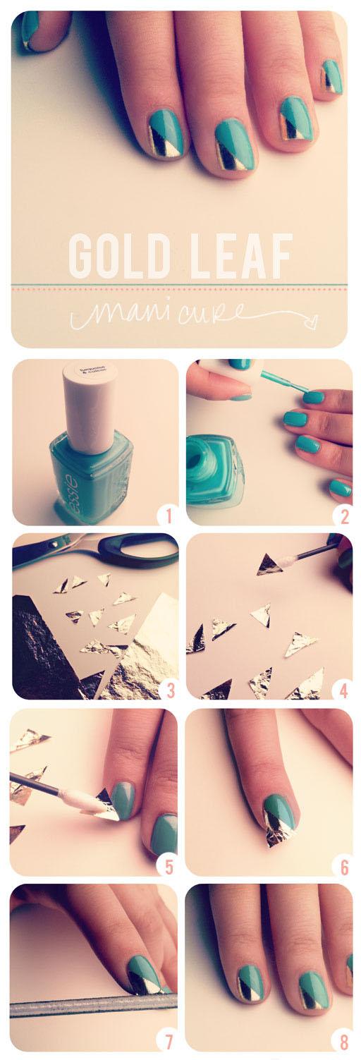 Дизайн ногтей самостоятельно дома пошаговая инструкция