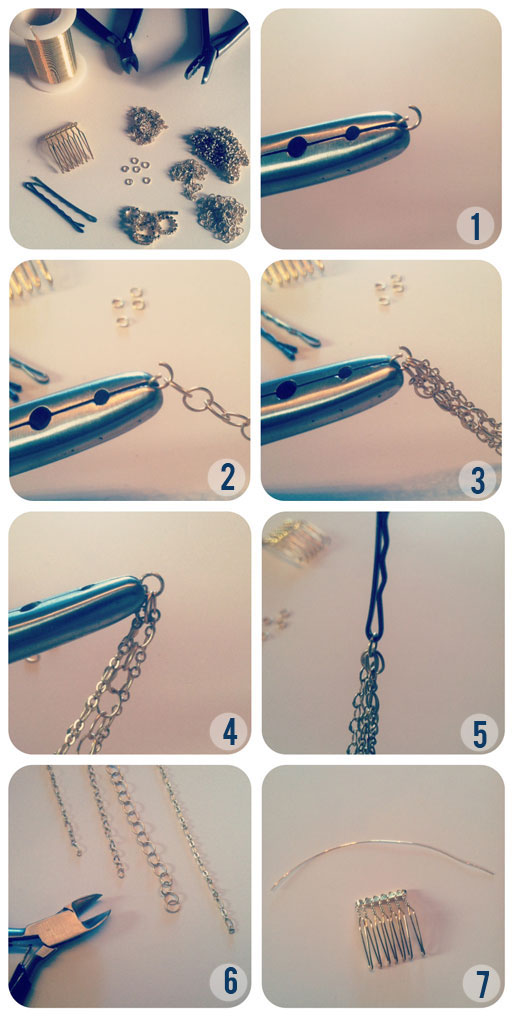 The Beauty Department: Your Daily Dose of Pretty. - DIY HAIR NECKLACE