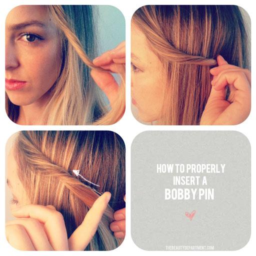 Sensational Bobby Pin Tutorial Hairalicious Short Hairstyles For Black Women Fulllsitofus