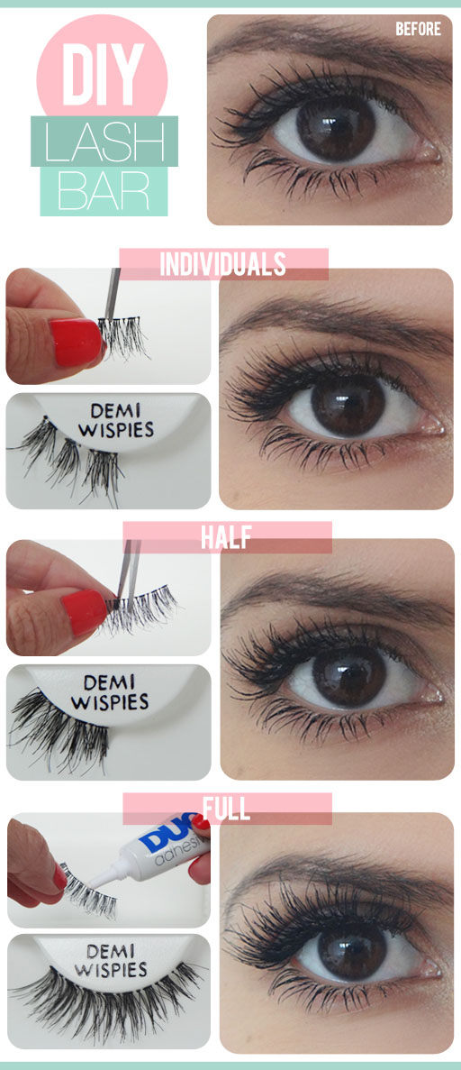 DIY Fake Lashes