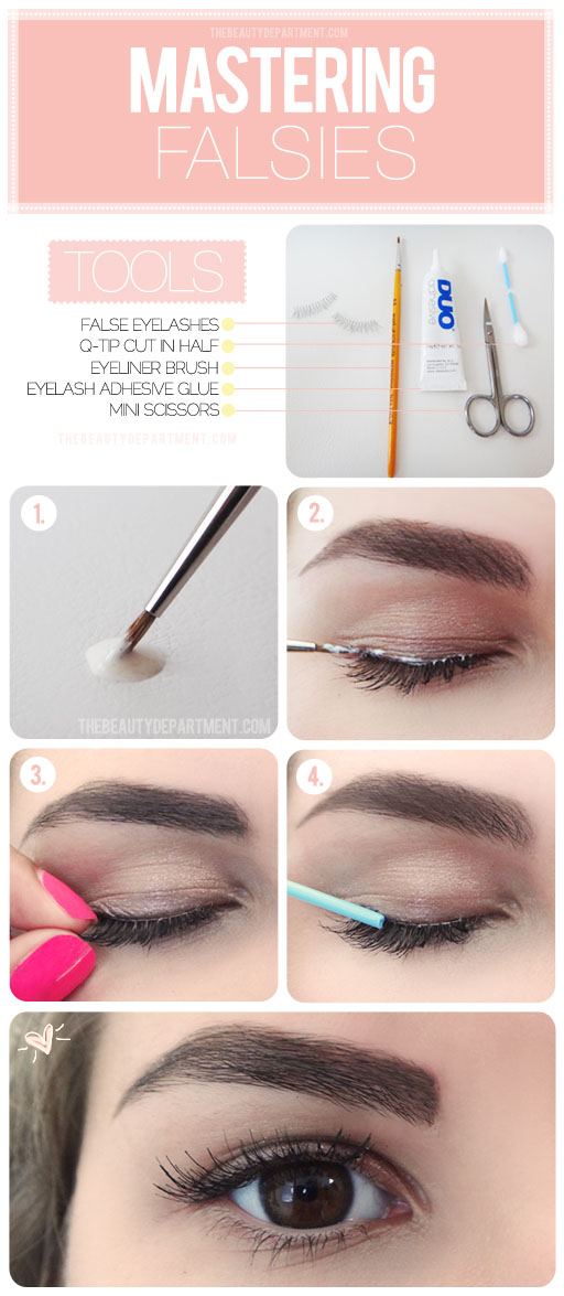 The beauty department your daily dose of pretty quick tips for makeup quick tips for lash strips ccuart Image collections