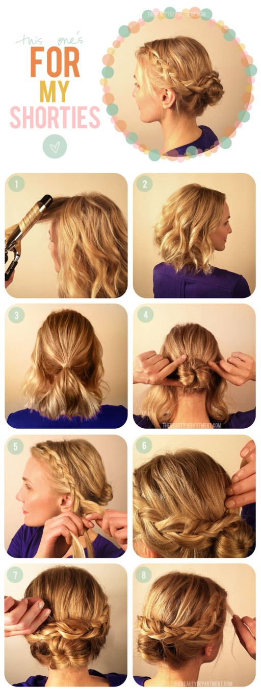 TBDshorties 5 Great Hairstyles for Busy Moms (With Shoulder Length Hair)