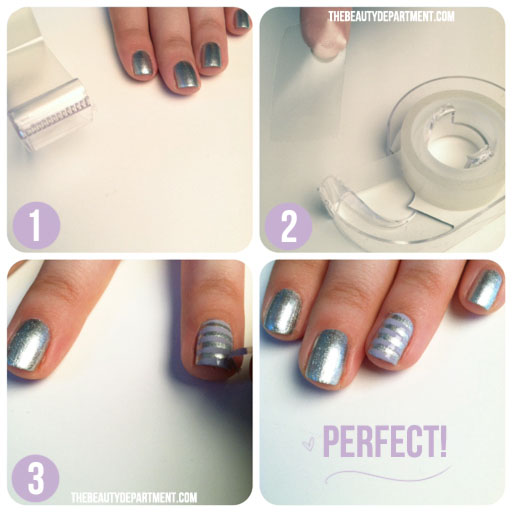 The Beauty Department Your Daily Dose Of Pretty The Tape Trick