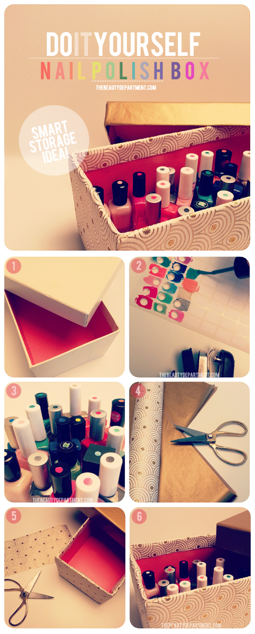 DIY Cheap Nail Polish Storage Ideas MiniMOMLifeCapacity