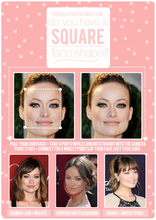 Hairstyles For Face Shape | The Beauty Department Your Daily Dose Of Pretty Hair Talk