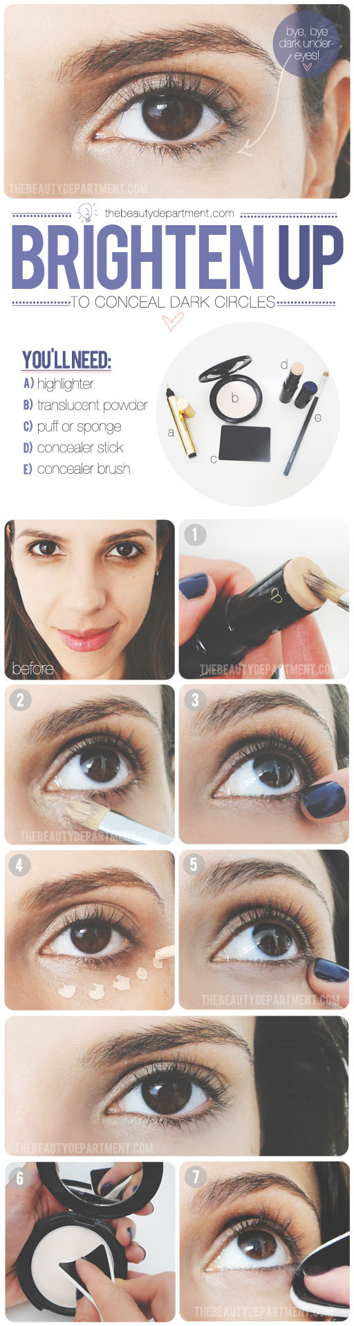 The Beauty Department: Your Daily Dose of Pretty. - UNDEREYE ...