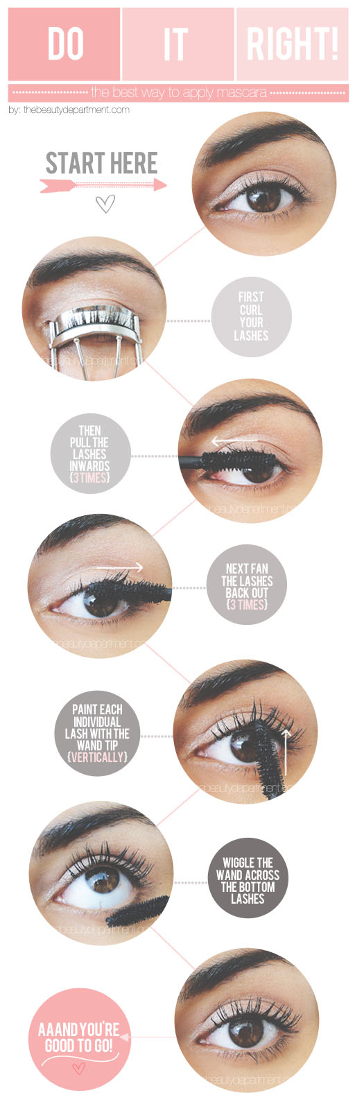 HOW TO GET THE MOST FROM MASCARA