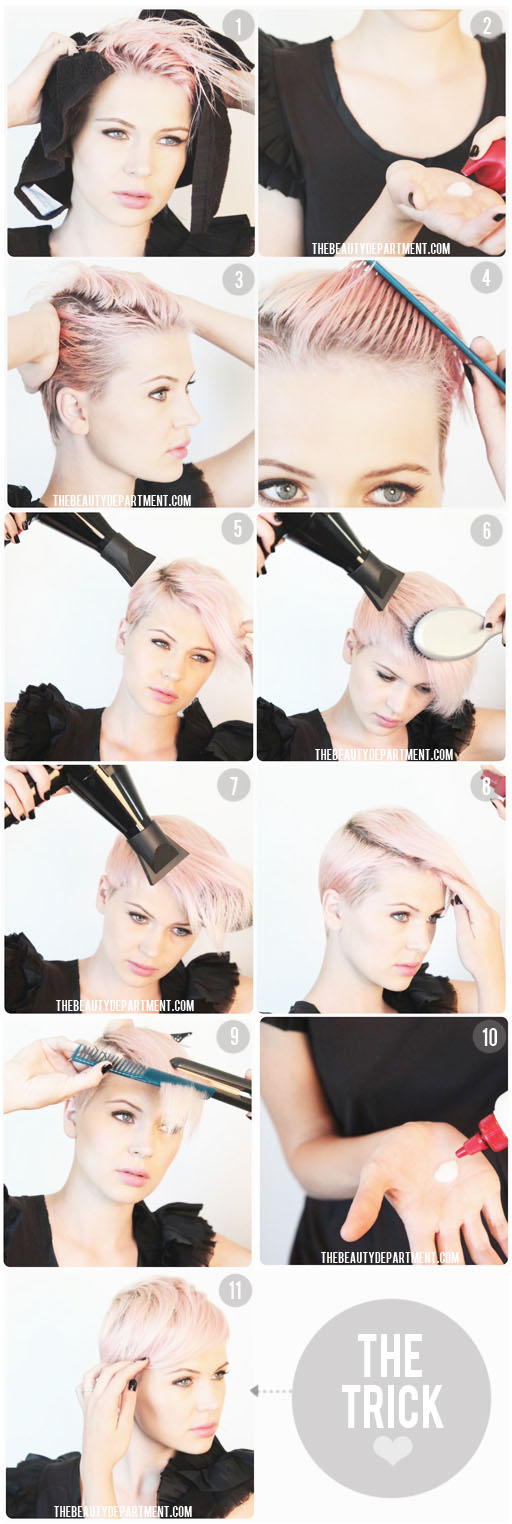 Hairstyles For Short Hair And How To Do It : Tag Archive for