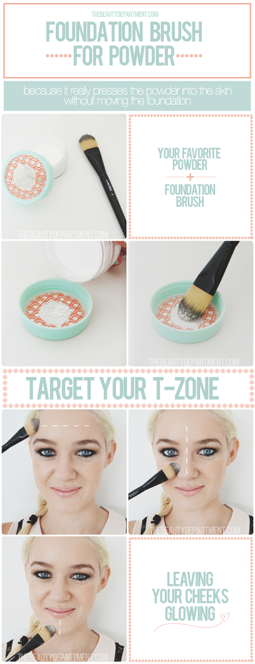 QUICK TIP: SETTING POWDER