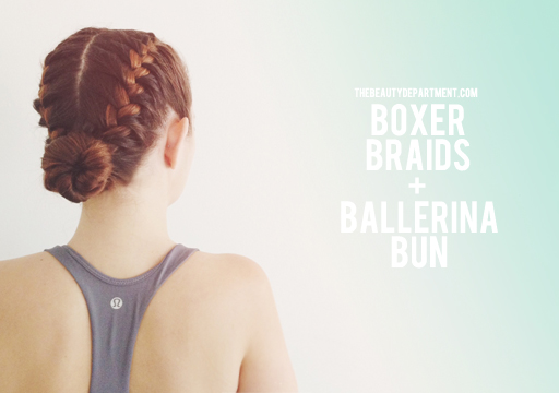 The Beauty Department Your Daily Dose Of Pretty Boxer Braids