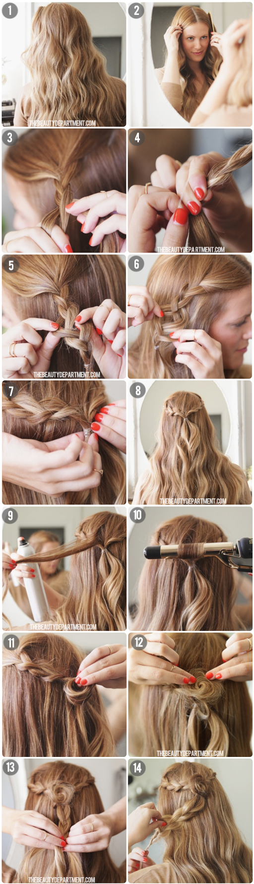 Superb The Beauty Department Your Daily Dose Of Pretty Rodarte Hairstyles For Women Draintrainus