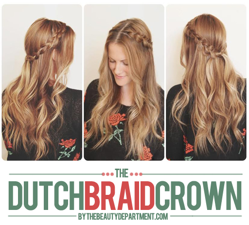 "Tag Archive for ""half dutch braid"" - The Beauty Department: Your Daily ...: http://thebeautydepartment.com/tag/half-dutch-braid/"