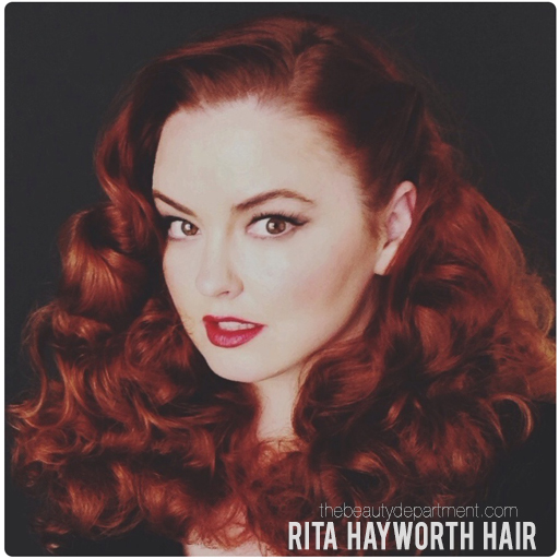 rita hayworth hair kristin ess