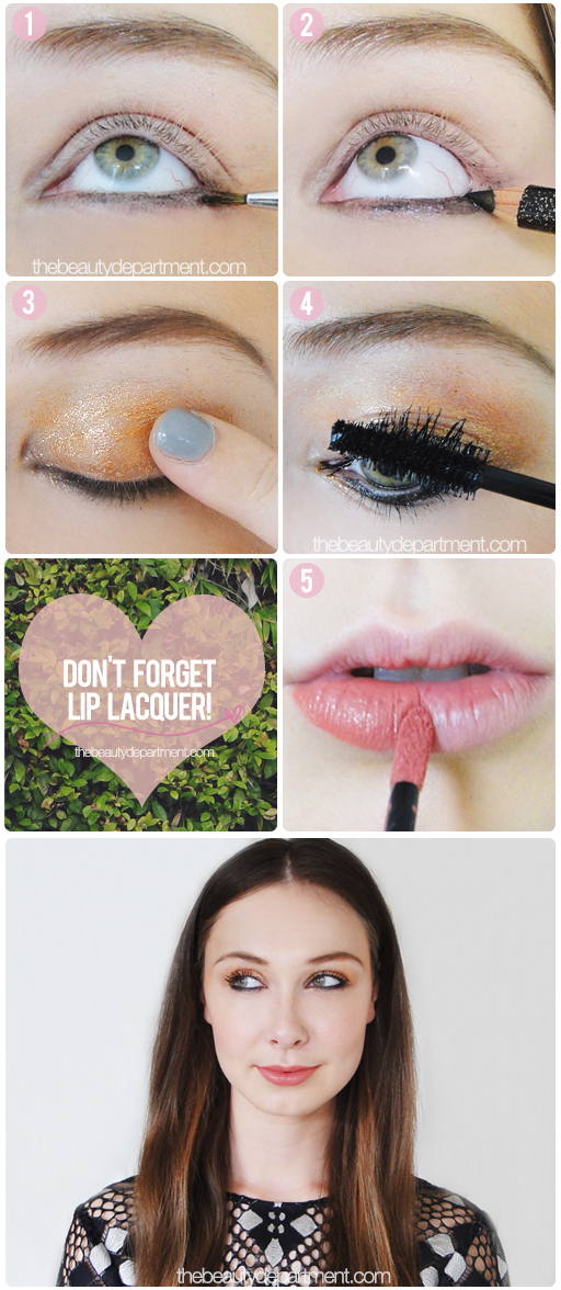 The Beauty Department Your Daily Dose Of Pretty. - PARTY MAKEUP INSPIRATION