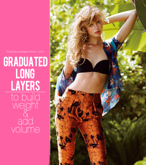 How To Cut Graduated Layers Graduated Layered Haircut Step By Step ...