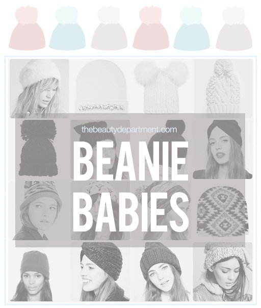 the beauty department beanie babies