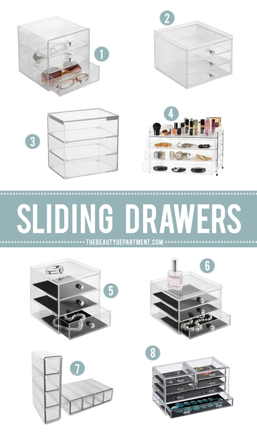 1organizer drawers the beauty department