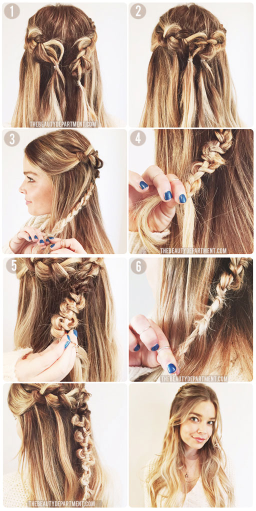 Excellent The Beauty Department Your Daily Dose Of Pretty The Macrame Braid Short Hairstyles Gunalazisus