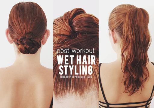 Styling Wet Hair: PHOTOS/POST: KRISTIN ESS