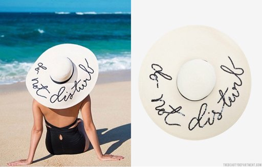do not disturb hat the beauty department