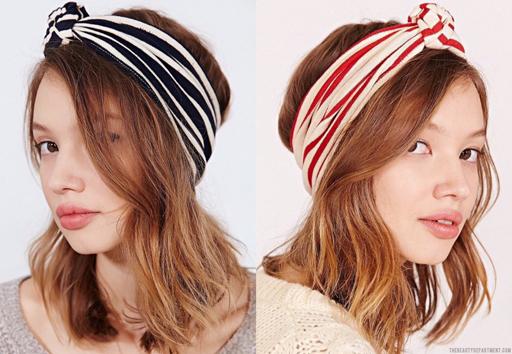 striped headband the beauty dept