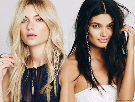 the beauty department braid ins free people