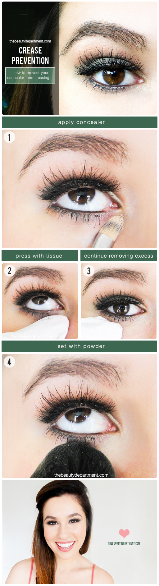 how to tell your eyebrow crease
