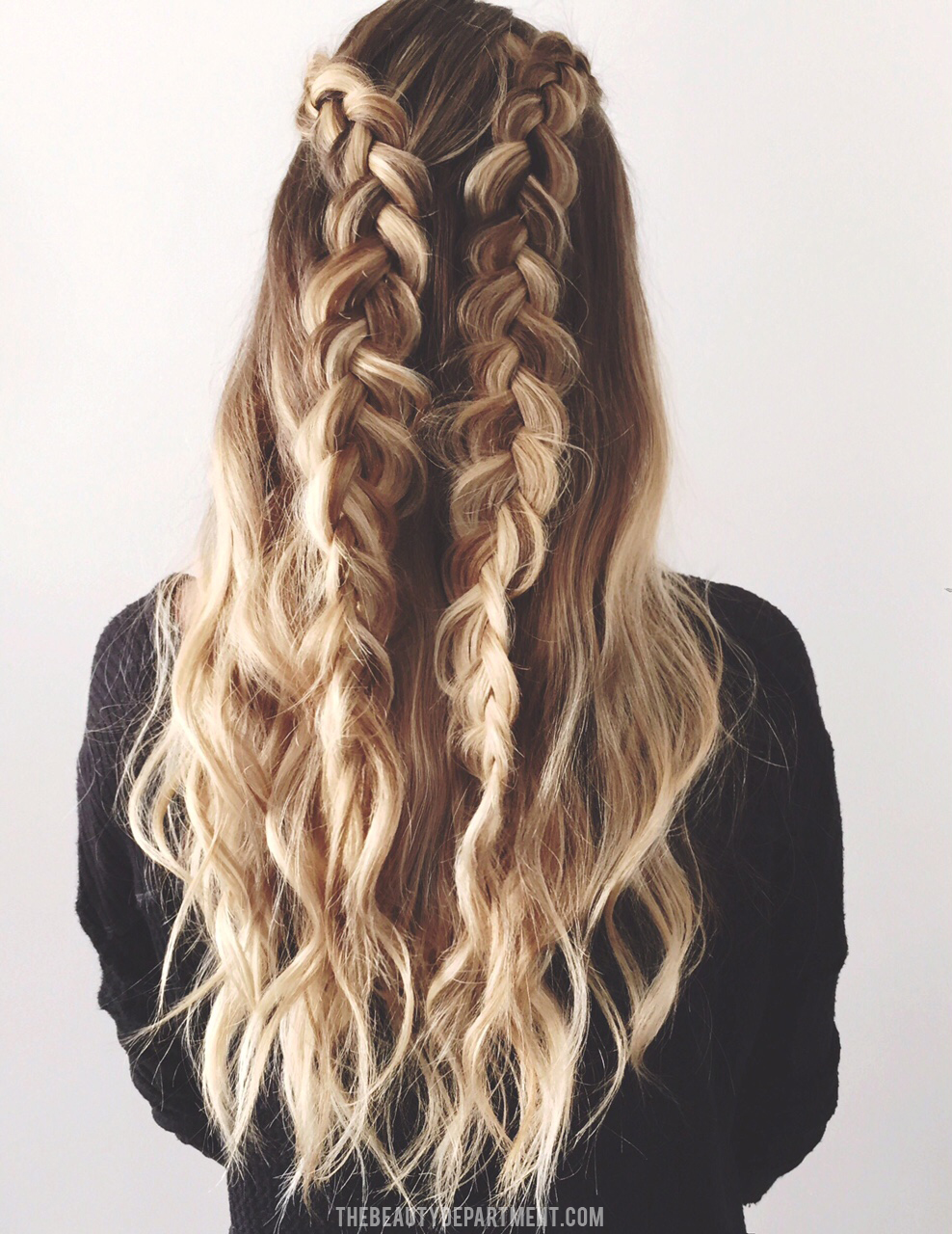 Awesome The Beauty Department Your Daily Dose Of Pretty 2 Braids 3 Ways Short Hairstyles Gunalazisus