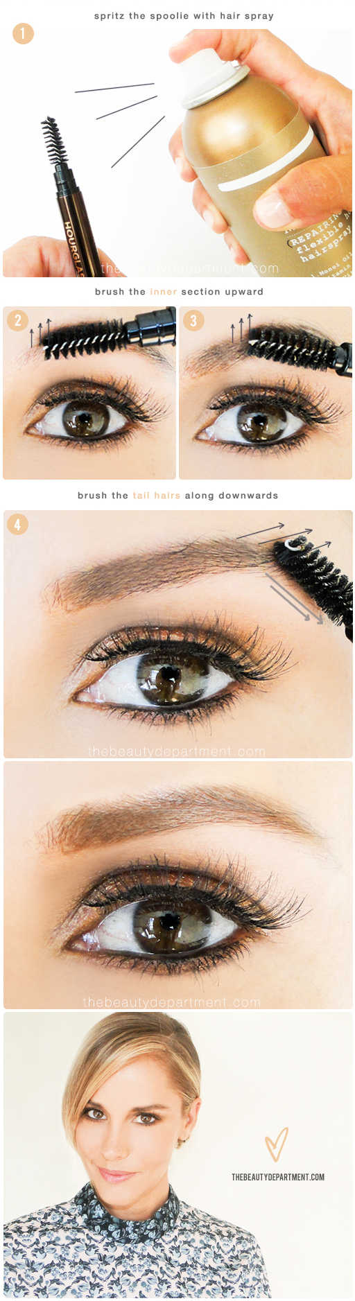The Beauty Department Your Daily Dose Of Pretty Diy Instant Brow Gel