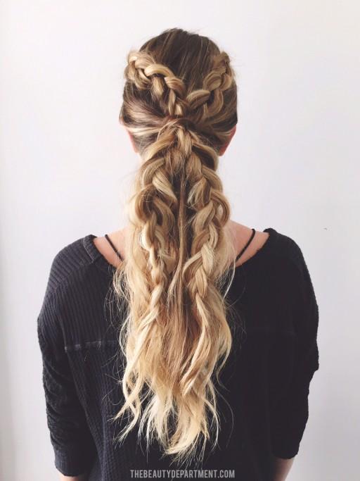 2 braids 3 ways TWO