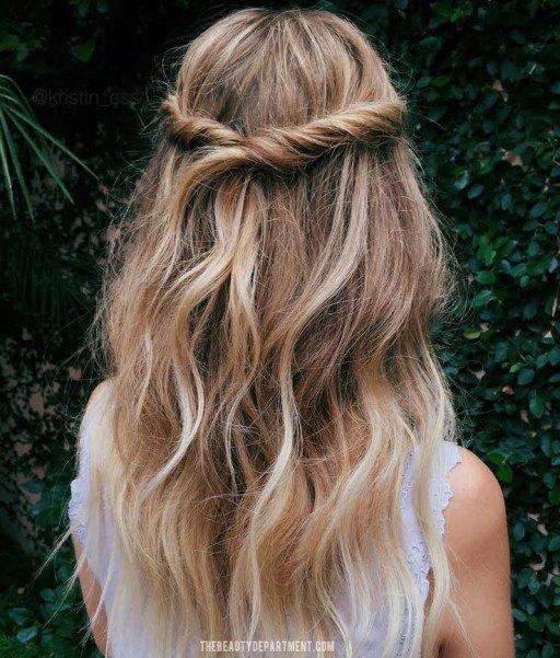 WINTER WEDDING HAIR IDEA  the beauty department