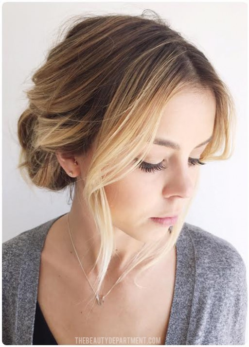 the beauty department easiest updo
