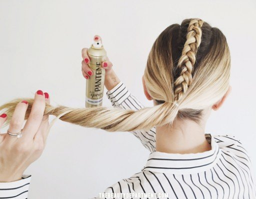 thebeautydepartment alcohol free hairspray