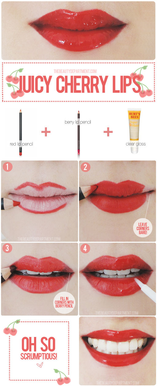 The Beauty Department: Your Daily Dose of Pretty. - RED LIPS ...