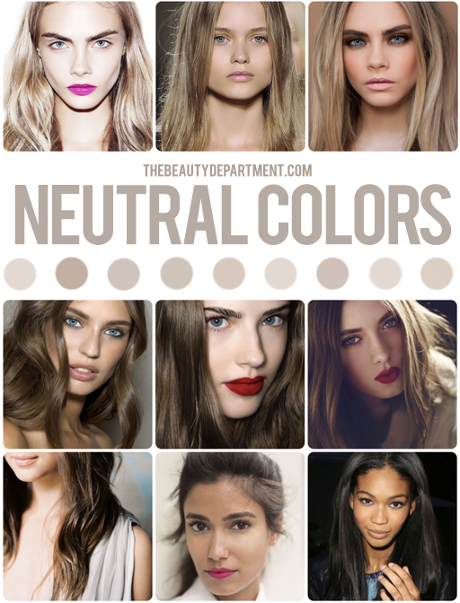 The Beauty Department Your Daily Dose Of Pretty Hair Color Guide Neutral