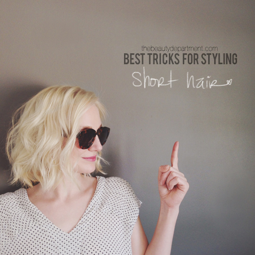 styling tips for short hair tips for hair the dept 5690 | tips for short hair the beauty dept