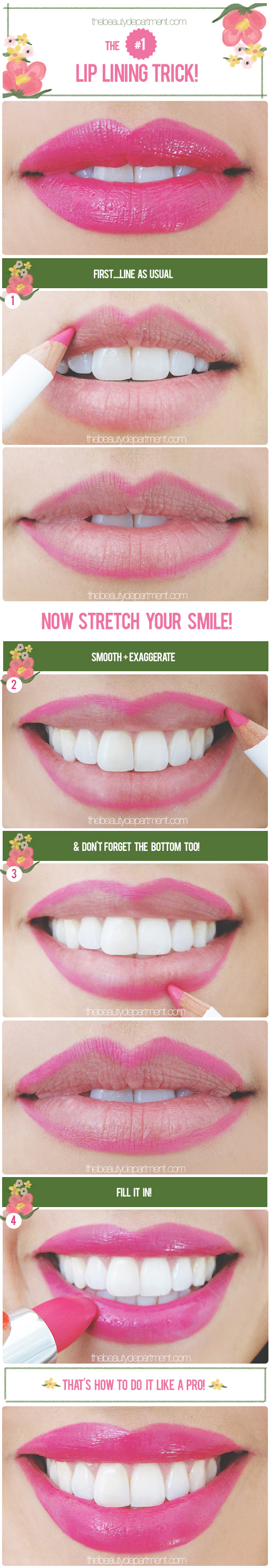 The Beauty Department: Your Daily Dose of Pretty. - QUICK LIP TIP