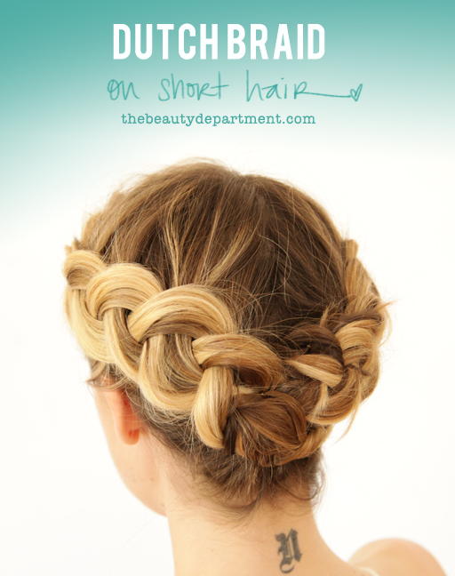The Beauty Department Your Daily Dose Of Pretty Summer Braid 4