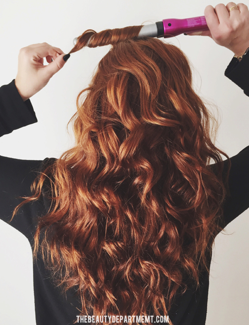 air drying for curls via thebeautydepartment