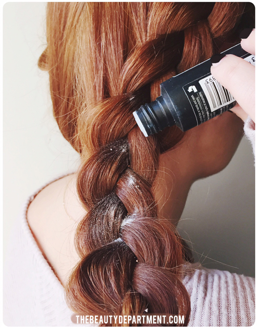 big braid tutorial the beauty department