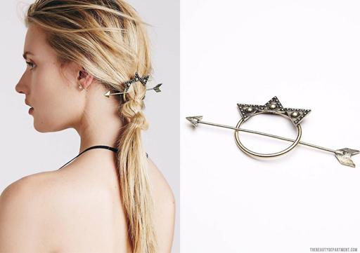 arrow hair accessory the beauty department