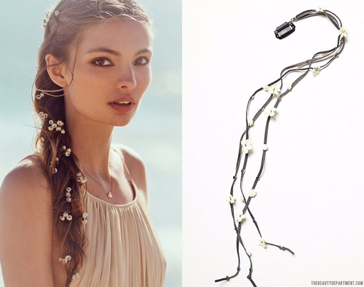 babys breath braid in the beauty department