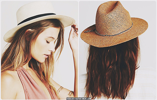 hats for summer the beauty department