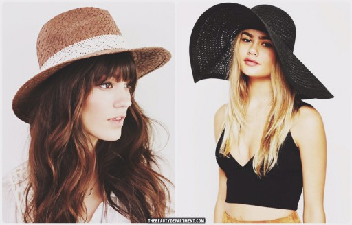 straw hat urban free people UO the beauty department