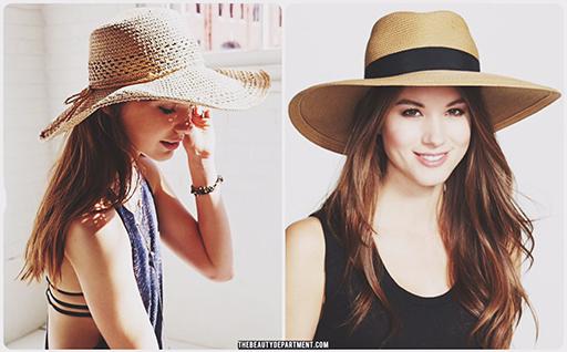 summer hair hats thebeautydept