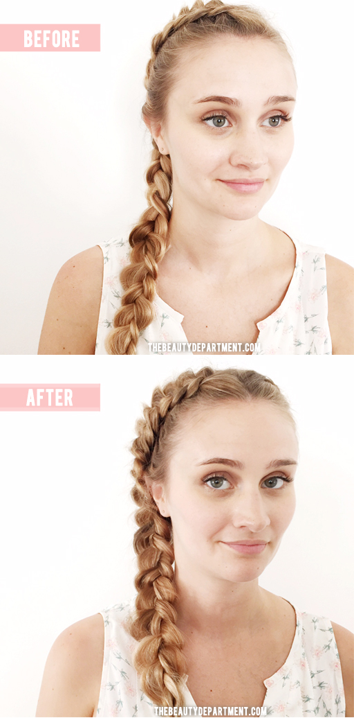 braid placement for photos the beauty department