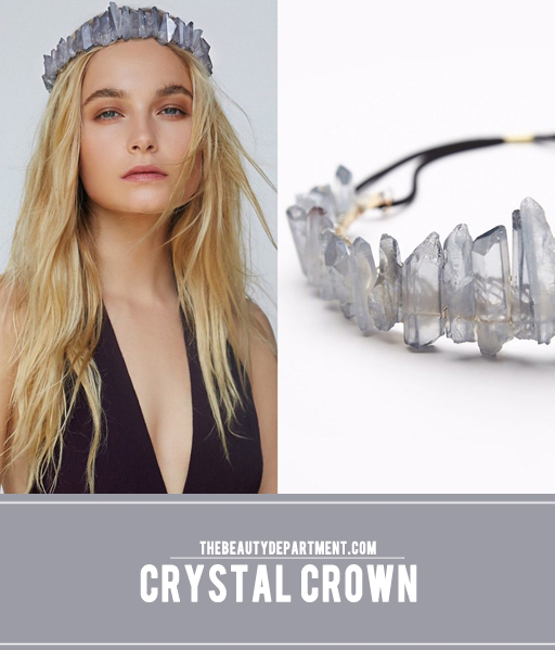 crystal crown the beauty department free people