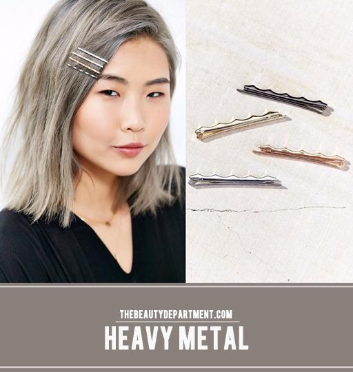 heavy metal bobbypins the beauty dept
