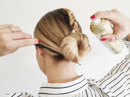 pantene air spray the beauty department hair tutorial